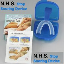 NHS Stop Snoring Anti Snore Snoring Mouth Guard Device Sleep Aid Stop Apnoea