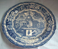 VINT HISTORICAL PLATE CANANDAIGUA NY, ONTARIO COUNTY 1989 MUST SEE, NAPLES CANAD