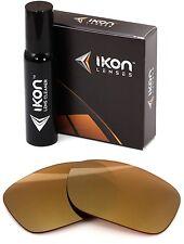 Polarizados Ikon iridio lentes de repuesto para Oakley Twoface XL espejo rojo