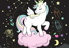 A3| Space Unicorn Constellation Poster Size A3 Fantasy Art Poster Gift #14738
