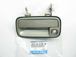 New Front Left Exterior Door Handle Champagne Silver For 1997-1998 Mazda MPV