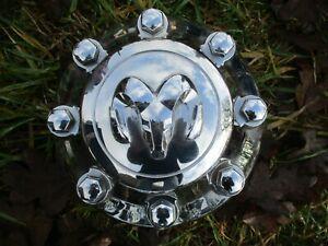 16 Dodge Ram 2500 3500 SRW 1XF55TRMAA 2014-2016 Silver OEM Center Cap 2472