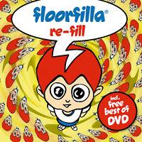 CD DVD Floorfilla Re-Fill   Set mit CD und DVD