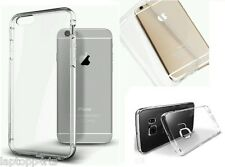 Apple iPhone 4S & 4 Thin Clear Transparent Rubber Silicone Gel Case Cover NEW