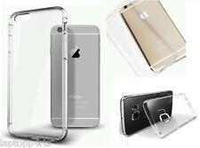 Apple iPhone 4S / 4 Sottile Chiaro Trasparente in Gomma in Silicone Gel Custodia Cover Nuovo