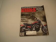 CYCLE WORLD MAGAZINE AUGUST 1988 VOLUME 27 NUMBER 8