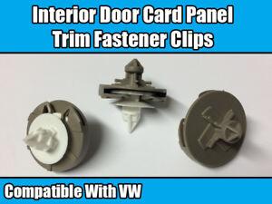 20x Clips For VW Golf Mk3 Vento Door Card Panel Interior Trim Plastic 1H0868243B