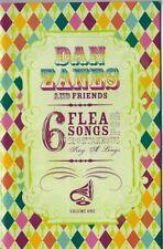 DAN ZANES ans Friends 6 FLEAS SONGS SHEET MUSIC BOOKLET VOL. 1 UKULELE HELLO