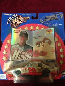 2001 Nascar Winners Circle Double Platinum Kevin Harvick #29