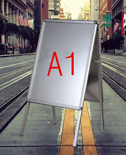 A1 A-BOARD PAVEMENT SIGN POSTER SNAP FRAME WATERPROOF SIGN DISPLAY STANDS