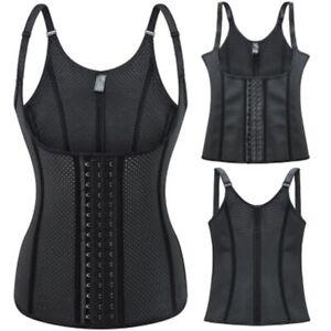 12 steel bone Shapewear Latex Corset Vest Waist Trainer Body Shaper Underwear