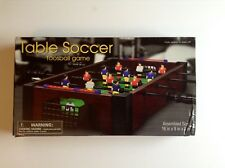 Table Soccor / foosball game   Westminster   2013  Assembled  Size 16 x 9 x 3 in