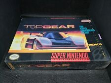 Top Gear (Super Nintendo Entertainment System, 1992) Brand New Sealed!!