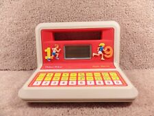 Vintage 1988 Fisher Price Math Stater Electronic Educational Learning Game Toy