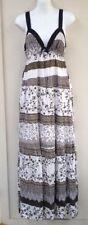 V-Neck Paisley Long Sleeve Dresses for Women