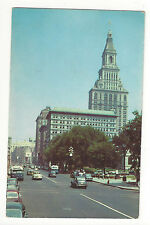 CT Hartford State Capitol Main Street Travelers Insurance Building Vtg Postcard