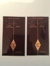 X2 CHARLOTTE TILBURY THE RETOUCHER shade 2 Fair CONCEAL & TREAT  ct sample