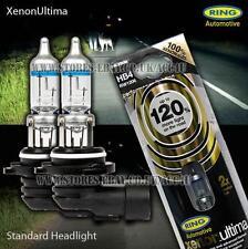 RING Xenon Gas Ultima HB4 12 V auto 120% più luminoso aggiornamento lampadine per fari proiettore