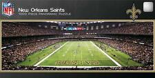 MASTERPIECES PANORAMIC NFL JIGSAW PUZZLE NEW ORLEANS SAINTS 1000 PCS FOOTBALL