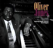 FREE US SHIP. on ANY 2+ CDs! ~Used,Good CD Oliver Jones: Live in Baden Switzerla