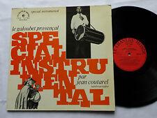 Jean COUTAREL Le galoubet provençal FRENCH folk LP CHANT DU MONDE (1973)
