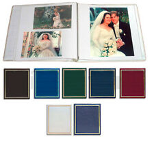 Photo Slip In Albums Clear Post Bound Photo Albums Boxes Ebay