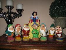 Vintage Euro Snow White Money Bank & 7 Squeaking Dwarfs