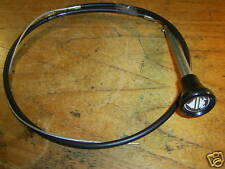 LAND ROVER SERIES with column lock DIESEL STOP CABLE  RIGHT HAND DRIVE NRC4369