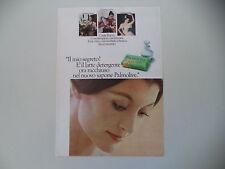 advertising Pubblicità 1974 SAPONE PALMOLIVE e CARLA FRACCI