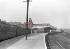 PHOTO  WIGAN (CENTRAL) RAILWAY STATION VIEW IN 1963 1