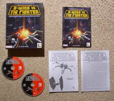 Star Wars X-Wing vs. Tie Fighter in Box - PC Action / Simulation Game