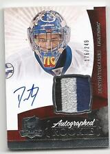 10-11 Dustin Tokarski The Cup Auto Rookie Card RC #147 Jersey Patch 176/249