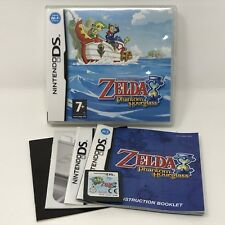 Zelda Phantom Hourglass DS UK EUR PAL Import Complete w/ Manual CIB - Tested