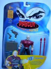 DIABOLIK TRACK OF THE PANTHER FIGURE WOLF THE AVENGER - SABAN