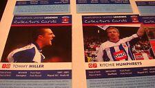 FOOTBALL  HARTLEPOOL FC LEGENDS SET 32 EXCELLENT MCGOVERN BEARDSLEY MILLER
