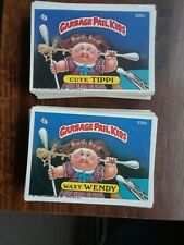 GARBAGE PAIL KIDS 9TH SERIES COMPLETE SET A&B + WRAPPER!