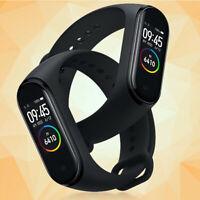 M4 Bluetooth 5.0 Smart Wristband Bracelet Tracker AMOLED Screen Waterproof Watch