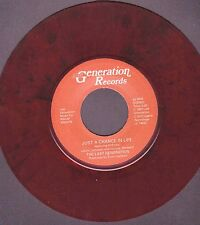 """Modern Soul - Last Generation - Just a Chance in Life - PS Dark Red Vinyl 7"""""""