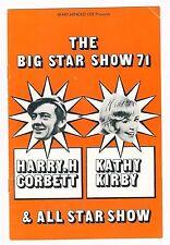 SOUTH PIER BLACKPOOL 1971 HARRY H CORBETT KATHY KIRBY ALL STAR SHOW DAVE ISMAY