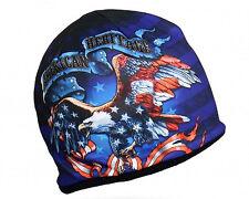 AMERICAN HERITAGE Beanie Knit Skull Cap Motorcycle Biker Hat Ski Snowboard EAGLE