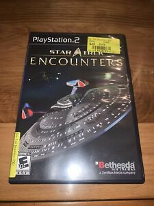 Star Trek Encounters (PS2) Complete - Clean,Tested & Fast Shipping
