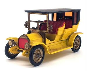 Matchbox Models Of Yesteryear Y-5 - 1907 Peugeot - Yellow