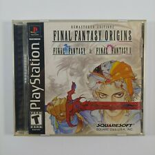 Final Fantasy Origins PlayStation 1 Ps1 Video Game (2003) Complete Tested