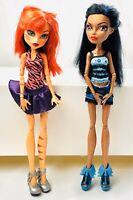 Monster High Toralei Stripe And Robecca Steam Dolls