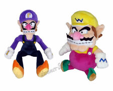 2pcs Super Mario Bros Wario and Waluigi Plush Doll Stuffed Figure Toy Xmas Gift