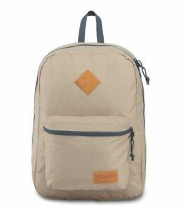 New JANSPORT Backpack Super Lite Oyster/Dark Slate Grey For Unisex