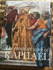 New listing The Complete Works of Raphael Italian Art Book Large book plates 650