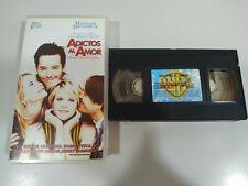 ADICTOS AL AMOR MEG RYAN MATTHEW BRODERICK - VHS Cinta Español - 2T