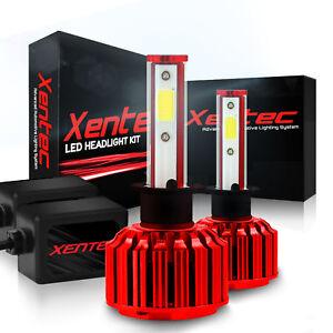 Xentec LED Headlight Kit 9006 + 9005 6K 800W for Chevrolet Silverado 2001-2006