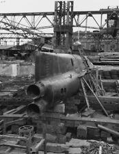 WW2 WWII Photo Japanese Mini Submarine Yokuska Japan 1945 World War Two / 7157